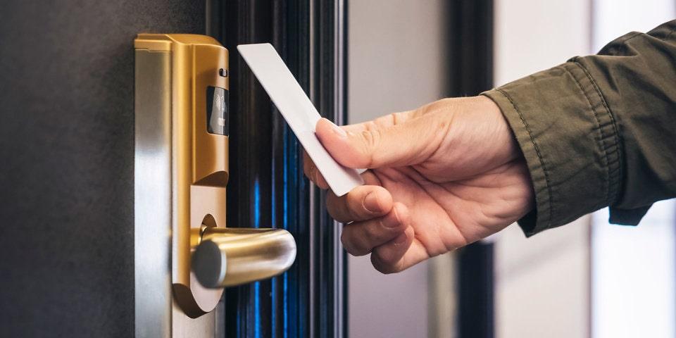 آشنایی با انواع کلید در هتل